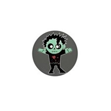 Fashion Zombie Mini Button (10 pack)