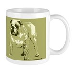 Brown Color Bulldog Coffee Mug
