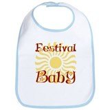 I Love Festivals Bib