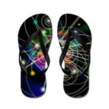 Art of particle tracks - Flip Flops
