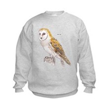 Barn Owl Bird Sweatshirt