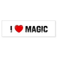 I * Magic Bumper Bumper Sticker