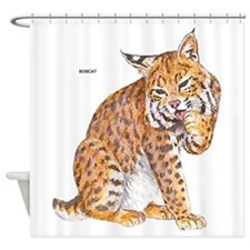 Bobcat Wild Cat Shower Curtain