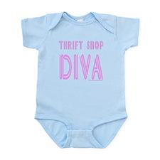 THRIFT SHOP DIVA Infant Bodysuit