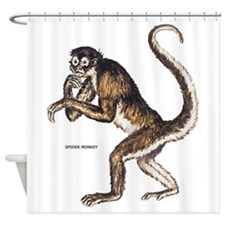 Spider Monkey Shower Curtain