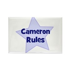 Cameron Rules Rectangle Magnet