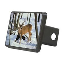 Deer in winter Hitch Cover