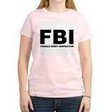 FBI Women's Pink T-Shirt