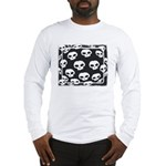 SKULL  ART DESIGN Long Sleeve T-Shirt