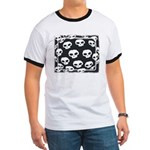 SKULL  ART DESIGN Ringer T