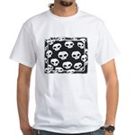 SKULL ART DESIGN White T-Shirt