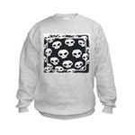 SKULL  ART DESIGN Kids Sweatshirt