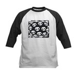 SKULL  ART DESIGN Kids Baseball Jersey