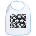 SKULL  ART DESIGN Bib