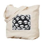 SKULL  ART DESIGN Tote Bag