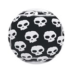 SKULL  ART DESIGN Ornament (Round)