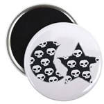 SKULL ART DESIGN Magnet