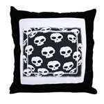 SKULL  ART DESIGN Throw Pillow