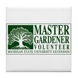 Volunteering Tile Coaster