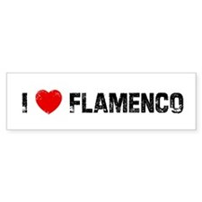 I * Flamenco Bumper Bumper Sticker