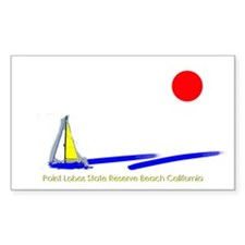 Point Lobos Rectangle Decal