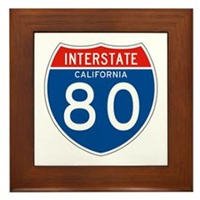 Interstate 80 - CA Framed Tile