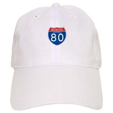 Interstate 80 - CA Baseball Cap