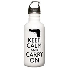 Keep Calm and Carry On Water Bottle