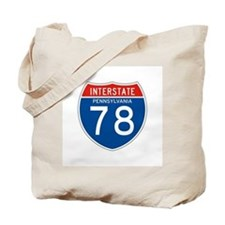 Interstate 78 - PA Tote Bag
