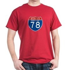 Interstate 78 - PA T-Shirt