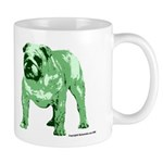 Green Tone Bulldog Mug