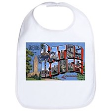 Baton Rouge Louisiana Greetings Bib