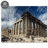 Construction on Parthenon in Greece Puzzle