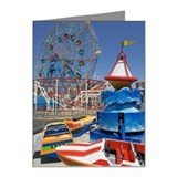 Amusement park rides Note Cards (Pk of 20)