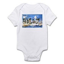 Biloxi Mississippi Greetings Infant Bodysuit