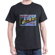 Columbus Ohio Greetings (Front) T-Shirt