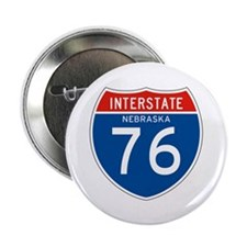 "Interstate 76 - NE 2.25"" Button (100 pack)"