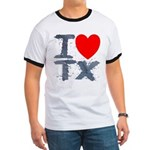 I Love TX Ringer T