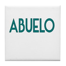 Abuelo-Grandfather Tile Coaster