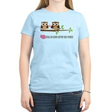 60th Wedding Anniversary Owls T-Shirt