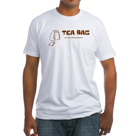Tea Bag Fitted T-Shirt