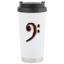 Bass Clef Travel Mug