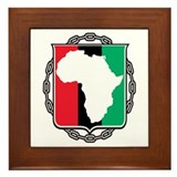 Africa Chained Framed Tile