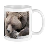 Lazy Grizzly Coffee Mug