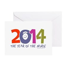 2014 Year of the Nurse Greeting Card