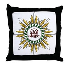 Order of St. Stanislaus Throw Pillow