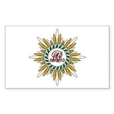 Order of St. Stanislaus Rectangle Decal