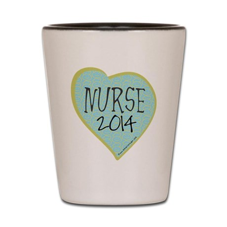 Nurse Graduate 2014 Shot Glass