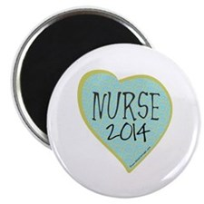 "Nurse Graduate 2012 Heart 2.25"" Magnet (100 pack)"
