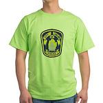 Lansing Police Green T-Shirt